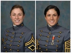 Capt. Kristen Griest and 1st Lt. Shaye Haver