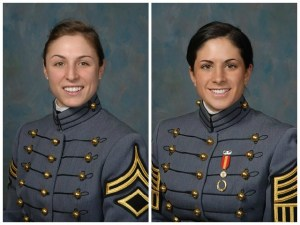 Capt. Kristen Griest and 1st Lt. Shaye Haver